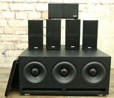 Teufel Cubycon 5.1 Heimkino Speaker 5x CUB 2 FCR Subwoofer US 5305/6 Home Cinema