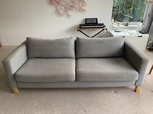 Karlstad 3 seater sofa covers - GREY