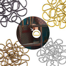 Non Welded D Ring Buckles High Quality Metal Clips Webbing, Strap Leather Craft
