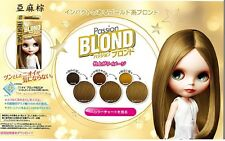 FRESH LIGHT Japan Blythe Bubble Hair Passion Blond Color DYING KIT