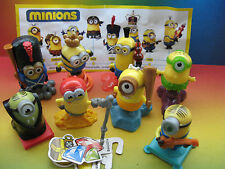 MINIONS COMPLETE SET MAGIC KINDER SURPRISE EUROPE