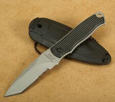 Herbertz Tanto Neck-Knife Fingermesser mit Halskette Taschenmesser Halsmesser
