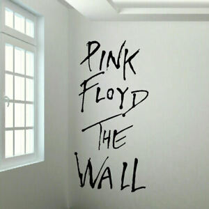 Large and Small Pink Floyd The Wall Sticker in Cut Matt Vinyl Decal A4 - 6ft
