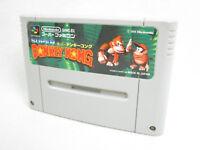 Super Famicom SUPER DONKEY KONG Country Nintendo Cartridge Only sfc