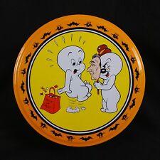 Casper the Friendly Ghost Halloween Tin Spooky 7 inch Diameter