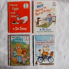 Lot of 4 Dr. Suess Beginner Books Richard Scarry Arthur Green Eggs