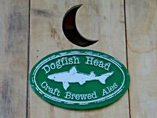 NEW METAL DOGFISH HEAD BREWERY ALE BEER BAR PROMO PUB SIGN 60 90 120 Minute IPA