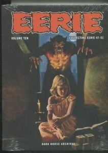 EERIE ARCHIVES VOLUME TEN HARDCOVER COLLECTING 47 THROUGH 51 NM SHRINK WRAP