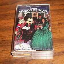 Disney's Season of Song Traditional Holiday CHRISTMAS Music Collection, Cassette