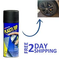 Plastic Dip Rubber Coating Spray Paint Matt Black Color Diy Car Wheels Rims Cans