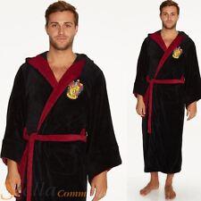 Oficial para adulto Harry Potter Gryffindor polar suave capucha Albornoz Bata