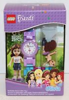LEGO FRIENDS OLIVIA 9001017 PURPLE BUILDABLE WATCH & MINI TOY GIRL FIGURE 2014