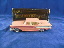 Brooklin Models BRK22 1958 Edsel Citation Two door Hardtop in Pink  Scale 1:43