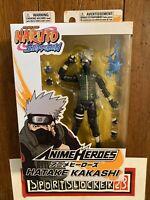 "Bandai Anime Heroes Naruto Shippuden Kakashi 6"" Action Figure NEW - IN HAND"