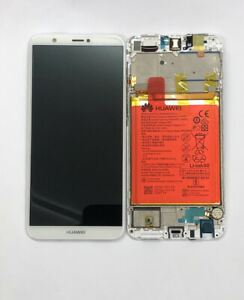 Genuine Huawei P Smart 2018 FIG-LX1 LX2 Complete LCD with battery White 02351SVE