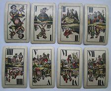 1913 Austrian Tarot Tarock 54 Cards Ferd Piatnik & Sohne old Industrie und Gluck