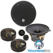 """MEMPHIS 15-MCS5A 5.25"""" MCLASS COMPONENT COAXIAL SPEAKERS CROSSOVERS TWEETERS NEW"""