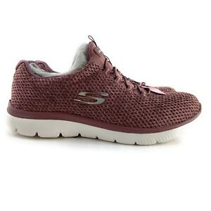 Skechers Women's Summits Striding Mauve Athletic Shoes Size 8.5 Wide