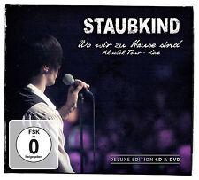 Staubkind: Wo wir zu Hause sind: Akustik Tour – Live - DigiCD/DVD
