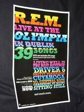 R.E.M. Live At The Olympia In Dublin Promo Poster