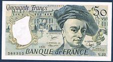 FRANCE - 50 FRANCS QUENTIN de la TOUR Fayette n°67.7 de 1981 en NEUF V.22 568315