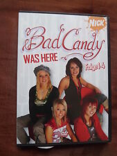 Bad Candy Was Here - Folge 01-04 - NickGirl Band Doku Soap mit Aufkleber DVD *