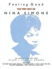 Piano Music Song Book Feeling Good Nina Simone PVG NEW