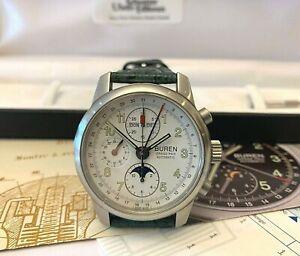 Armbanduhr-Buren-Grand Prix-Automatic-Valjoux-Edition 62 Tous Terrains-Art. 5770