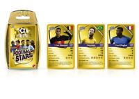 Top Trumps World Football Stars Card Game Gold Case - 2018