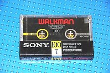 SONY  WALKMAN 100     TYPE II    BLANK CASSETTE TAPE (1) (SEALED)