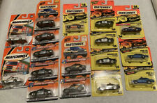 matchbox police cars lot