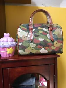 Dooney And Bourke Robertson Collection Olivia Satchel NWT