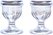 Eye Wash Cup Set of 2 Easy & Comfortable Use Washer Cleaning Cleanse Set of 2
