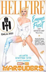 🚨🔥 MARAUDERS #21 NAKAYAMA Trade Dress Variant Emma Frost Hellfire Gala