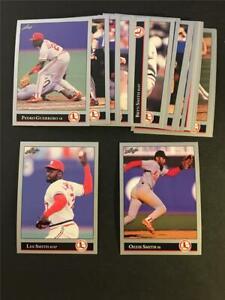 1992 Leaf St. Louis Cardinals Team Set 20 Cards