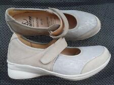 Damen Ballerina innen Sohle Leder Schuhe Slipper Spangenschuhe Sneaker @2552X