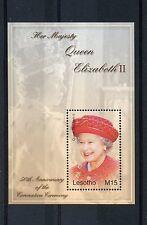 Lesotho 2004 MNH Her Majesty Queen Elizabeth II Coronation 50th Anniv 1v S/S