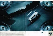 Publicité advertising 1999 (2 pages) BMW 740 d
