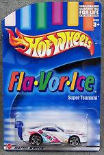 HOT WHEELS ~ FLA-VOR-ICE ~ SUPER TSUNAMI ~ WHITE ~ 1/64