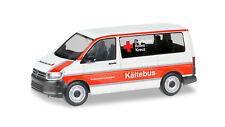 "Herpa 093859 VW T6 Bus Alemán Cruz Roja ""Kältebus"" Ho 1:87 Nuevo"