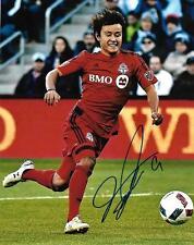 Tsubasa Endoh Toronto FC MLS Soccer Football signed 8x10 photo w/COA