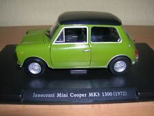 Atlas Fabbri Innocenti Mini Cooper MK3 1300 Baujahr Modell 1972 grün, 1:24