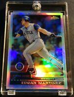 2000 EDGAR MARTINEZ TOPPS CHROME REFRACTOR #89 YANKEES READ NM (116)