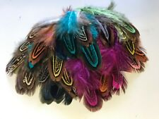 50 Random Mixed Colour 4-8cm Pheasant Feathers DIY Craft Millinery Dream Catcher