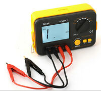 VC480C+ 3 1/2 Digital Milli-ohm Multimeter with 4 Wires and power supply Cord