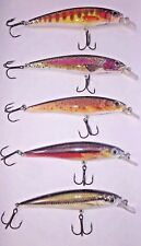 5 Piece Hightower lure kit!  Rebel styled, Favorites for Bass and Trout