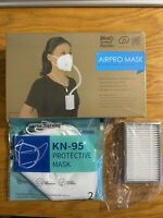 Value Kit! 1 BROAD AirPro Mask + 1 HEPA Filter + 2 Mask Replacement