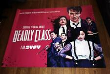SYFY NET CHANNEL Deadly Class 5FT SUBWAY POSTER 2019