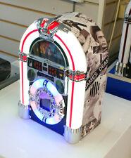 Jukebox Sterero CD Player AM FM Radio BLUETOOTH MP3 Lights limited edition eLVIS