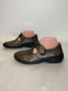 Finn Women's Nashville Soft Leather Shoes Luxory Cigar 82054-275173 Sz 8 (EU 39)